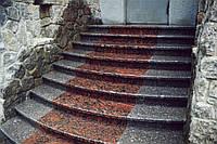 Изготовление ступеней из натурального камня