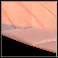 Бумага тишью, цвет персиковый