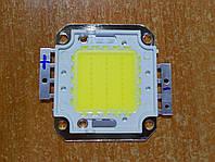 30Вт светодиод  2500-2700 лм чистый белый 6500К