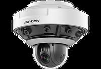 16Мп панорамная + PTZ PanoVU видеокамера Hikvision DS-2DP1636Z-D (5мм)