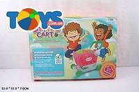 Детская продуктовая тележка с игрушечной едой, FZ899-17FZ89