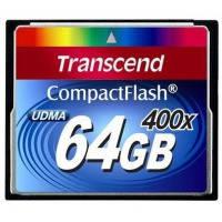 Карта памяти TRANSCEND Compact Flash 64 GB (400X)