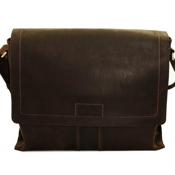 Мужская сумка из матовой кожи VATTO MK34Kr450 (Украина)