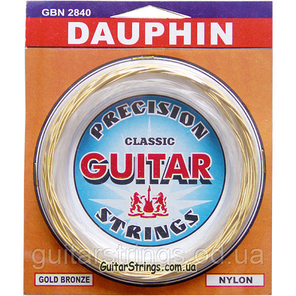 Струны Solid GBN2840 Dauphin Classic Bronze Medium Tension 28-40