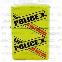 Бензинова запальничка Zippo 28060 Police Caution Lemon
