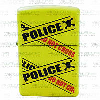 Бензиновая зажигалка Zippo 28060 Police Caution Lemon