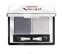 Тени компактные Pupa Vamp Duo 09, серебряный камень