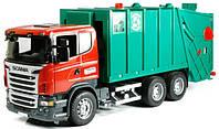 Детский мусоровоз Bruder Scania М1:16 (03561)
