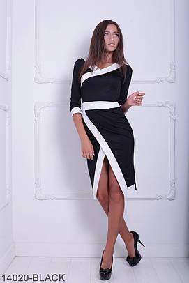 Стильне чорне жіноче плаття Brosa (S-XXL)