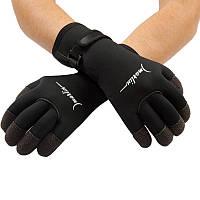 Перчатки Marlin KEVLAR 5mm, кевларовые вставки, застежка велкро, р-ры M-XXL