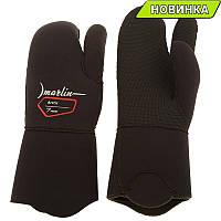 Перчатки Marlin ACTIC 3-х палые 7mm, двойная обтюрация, р-ры M-XXХL
