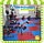 Будо-мат татами «ласточкин хвост» (EVA 50мм, размер 1х1м, Турция), фото 6