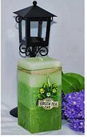 Свеча Зеленый чай цилиндр 243