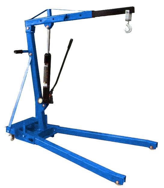 Кран гидравлический поворотный 360   2 Тонны складной