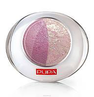 Тени компактные двойные Pupa Luminys 20, Buble Pink