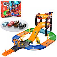 Игровой набор для мальчика Гараж P62 с машинками