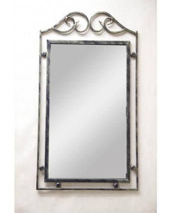 Зеркало кованое Завитки ЗН1, фото 2