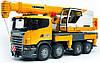 Автокран Bruder Scania Liebherr Большой со светом и звуком (03570)