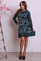 Ажурное нарядное женское платье. Размер: 46, 48, 50