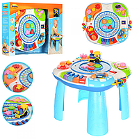 Музыкальный развивающий игровой центр столик Win Fun 0801-07