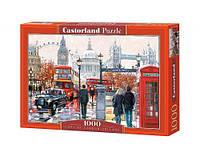 Пазлы castorland С-103140 Лондон в коробке 1000 элементов
