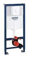 Инсталяционный комплект 4 в 1 в сборе, для подвесного унитаза Grohe Rapid SL 38722001. (Grohe - Германия)