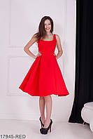 Жіноче червоне плаття Kristy Розпродаж (XS)