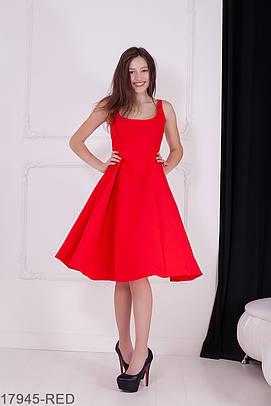 Жіноче червоне плаття Kristy Розпродаж (XS, S)