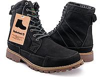 Ботинки мужские Timberland (high) winter edition (мех) - 39Z