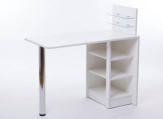 """Маникюрный столик """"Амур с полочками"""""""