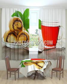 Фотошторы и скатерти на кухню
