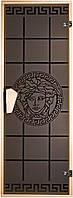 """Стеклянная дверь для сауны Tesli """"Gorgona"""" 67,8x188"""