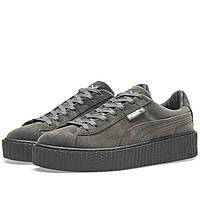 Оригинальные  кроссовки Puma x Fenty Creeper Velvet Glacier Grey