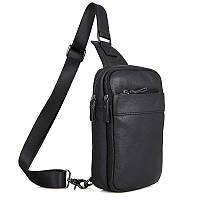"""Рюкзак сумка через плече """"Стиляга New"""" натуральная кожа, фото 1"""