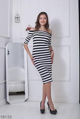 Жіноче повсякденне плаття в смужку Viskoz (XS-XXL)