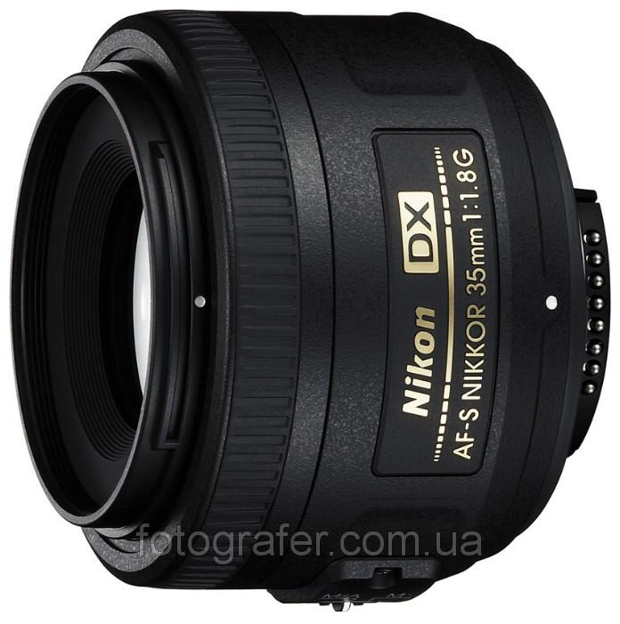 Объектив Nikon AF-S DX Nikkor 35mm f/1.8G