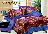 Комплект постельного белья Тет-А-Тет евро 425 ранфорс