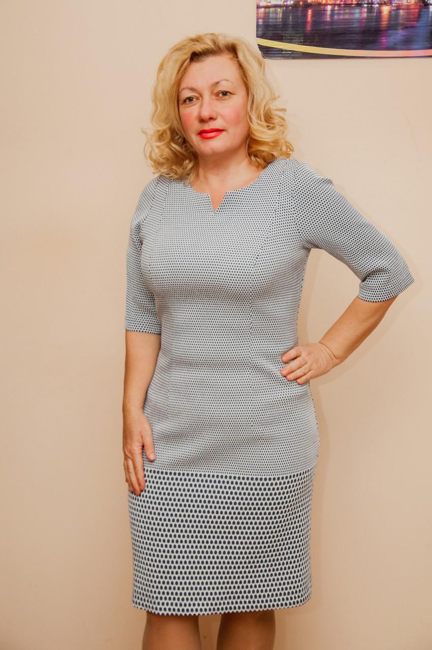 57cd918938c Женское платье из костюмной ткани - интернет-магазин SAKARS в Кривом Роге