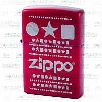 Бензинова запальничка Zippo 28342 Circle Star Square