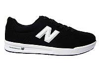 Мужские Кроссовки New Balance, замша, черные