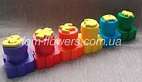 Детские пальчиковые краски, 6 цв., фото 1