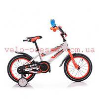 Детский двухколесный велосипед фибер fiber 12 дюймов