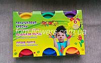 """Детские пальчиковые краски """"Мультяшки"""" 6 цв., фото 1"""