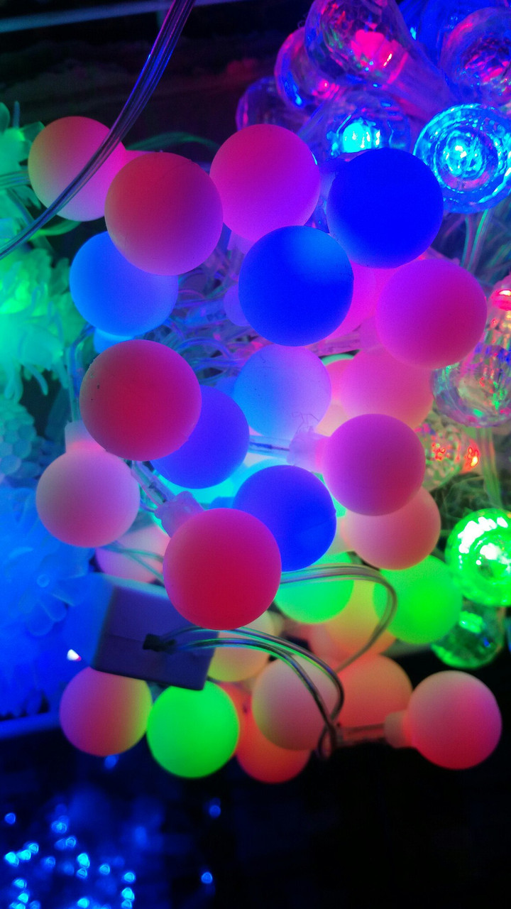 Гирлянда светодиодная шарики (LED) 40 л