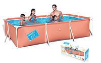 Bestway Бествей  56222 Каркасный прямоугольный бассейн