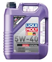 Синтетическое, дизельное моторное масло Liqui Moly Diesel Synthoil  5W-40 5л