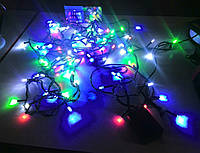 Гирлянда светодиодная 100 LED (свечи)