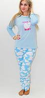 Женская пижама, нежная женская пижама из трикотажа и велюра, стильная пижама для прекрасных женщин