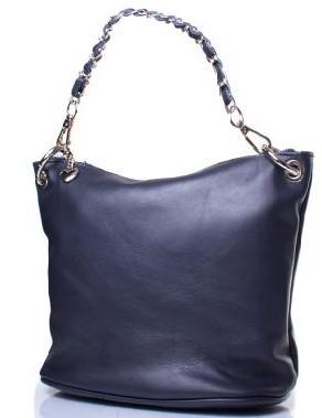 Модная женская кожанаясумка Eterno синий