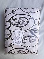 """Постельное белье """"Тираспольский текстиль"""" жатка двуспальный комплект, хлопок, расцветки варьируются"""